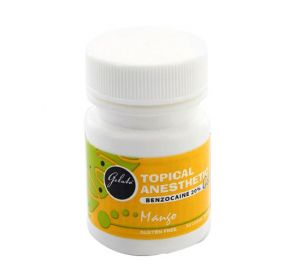 Gelato® Topical Anesthetic Gel, (Benzocaine 20%) 1 oz Jar, Mango