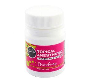 Gelato® Topical Anesthetic Gel, (Benzocaine 20%) 1 oz Jar, Strawberry