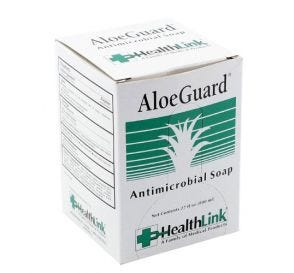 AloeGuard® Antimicrobial Soap Refill for Wall Dispenser, 800 ml Bag-in-Box