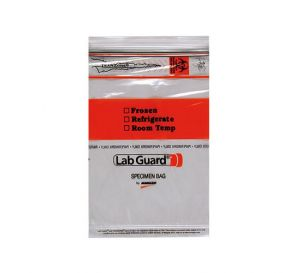 "Lab Guard® Biohazard Speciman Bag, 6"" W x 9"" H"