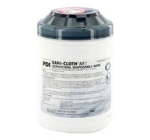 "Sani-Cloth® AF3 Germicidal Disposable Wipe, 6"" x 6.75"", 160/Can"
