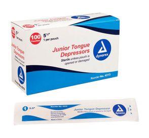 "Tongue Depressor Jr Sterile 5 1/2"""