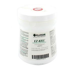 "EZ-KILL® Disinfecting Deodorizing Cleaning Wipes, 6"" x 6.75"", 160/Canister"