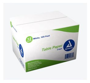 "Table Paper Crepe 18"" x 125' White"