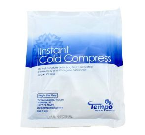 "Instant Cold Compress, 5"" x 6"", Plastic Backing"