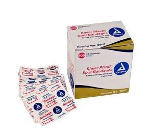 """Sheer Spot Adhesive Bandage LF ⅞"""""""