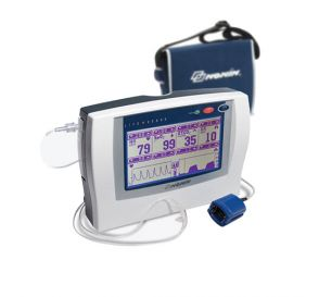 LifeSense® Capnography Monitor w/WIDESCREEN™ Touch-Panel Display and Pulse Oximetry