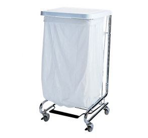 "Waste Can Liner White 20-30 Gallon .80mil 30"" x 36"""