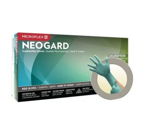 Neogard® Exam Glove Small Chloroprene Powder-Free