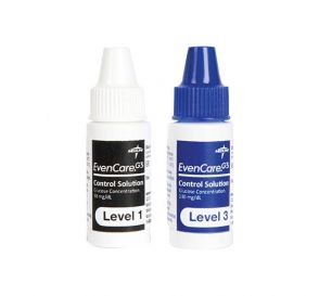 EvenCare®G3 Blood Glucose Monitoring Control Solutions, 2.5 ml High/2.5 ml Low (for Use with EvenCare® G3 Item #MPH3540)