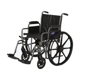 "Wheelchair 20"" Swing Footrest and Armrest"