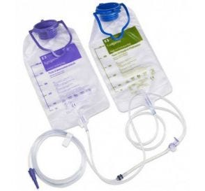 Kangaroo™ Epump Set with Flush Bag 1000 ml