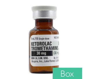 Ketorolac Tromethamine (Toradol®) 30mg/ml 1ml Single Dose Vial - 25/Box