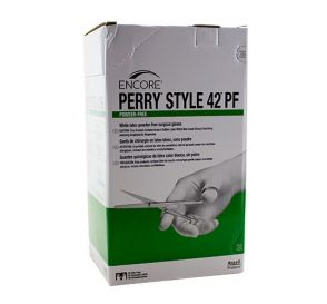The Original Perry® Style 42® Latex Surgical Gloves, Size 7.5, Powder-Free