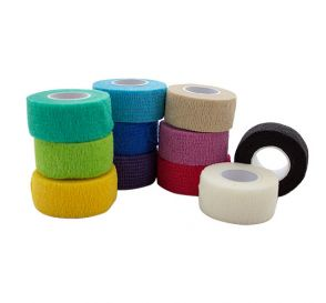 "Co-Ease Cohesive Bandage Assorted Colors 1"" x 5Yds"