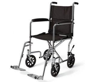 "Wheelchair 19"" Transport Swing Footrest and Armrest"