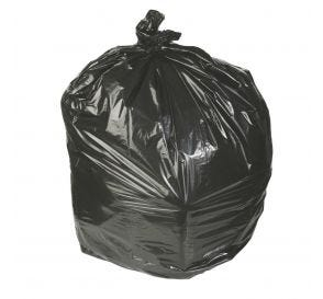 "Waste Can Liner Black 30"" x 36"" 20-30 Gal .45mil"