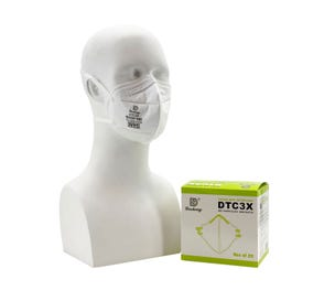 N95 Particulate Respirator Mask, NIOSH Approved - 20/Box