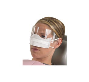 Patient Safety Mask w/ Shield - 25/Box, 8 Boxes/Case
