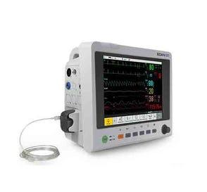 "Patient Monitor 12.1"" Touch Screen for ECG, SpO2, NIBP, EtCO2, RR, Printer"