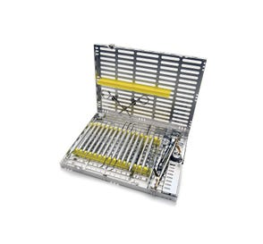 Signature Series® Instrument Cassette (Holds 16 Instruments) Yellow