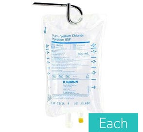 0.9% Sodium Chloride 500ml Plastic Bag for Injection