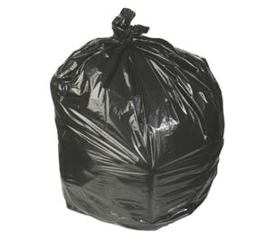 "Waste Can Liner Black 30"" x 36"" 20-30 Gal .45mil - 250/Case"