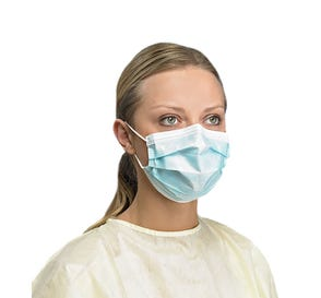 Earloop Procedure Mask, ASTM Level 3 Blue - 50/Box
