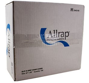 """Slip-N-Grip Chair Cover 48"""" x 56"""" - 150/Box"""