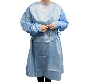 Non-Sterile Gown AAMI Level 1 - 10/Bag