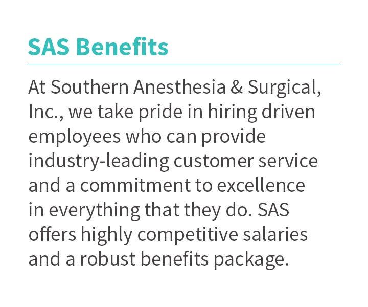 Benefits for SAS