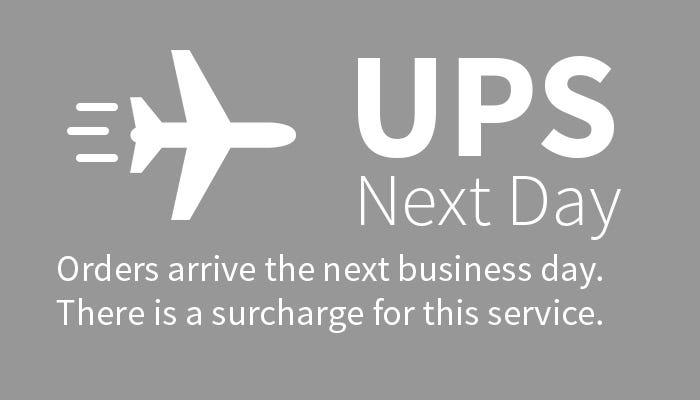 UPS Next Day Air Shipping